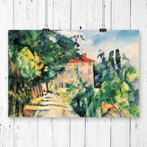 """Tablou """"Paul Cézanne"""", hartie, 59,4 x 84,1 x 0,02 cm"""