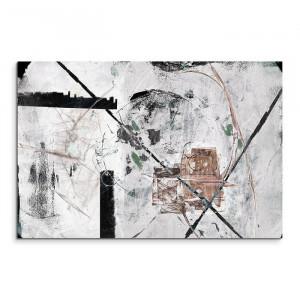 Tablou Abstrakt 750, gri deschis, 80 x 120 x 2 cm