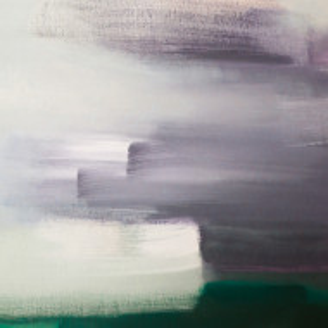 Tablou Brushes - Emerald, 30x40cm