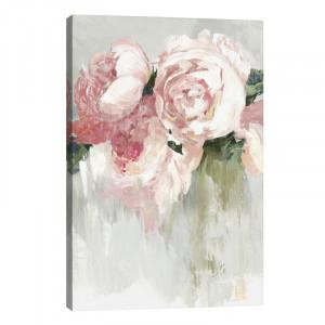 Tablou canvas Peonies, 45.2 x 30.48 x 1.9 cm