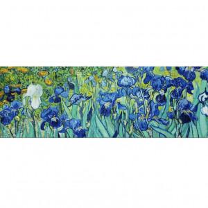 Tablou Vincent van Gogh, albastru/verde, 40 x 120 cm