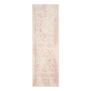 Traversa Lucinda ivoriu/roz, 62 x 240 cm by Safavieh
