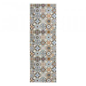 Traversa Marrakech, PVC, gri, 50 x 150 cm