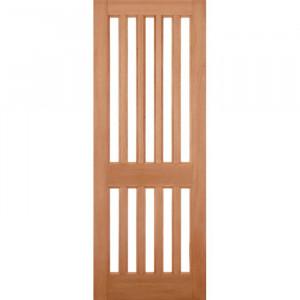 Ușă exterioară Windsor din lemn netezit, 198.1 x 83.8 x 4.4 cm