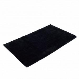 Covoras de baie Rio microtesatura negru 120 x 70 cm