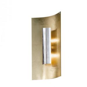 Aplica Aura, metal/sticla, 23 x 45 x 8 cm, 80w