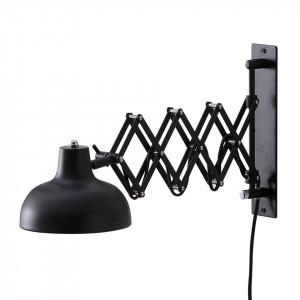 Aplica de perete Triangel fier, negru, 1 bec, 220 V