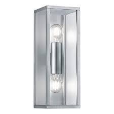Aplica Garonne, metal/sticla, 14 x 38 x 14 cm, 6w