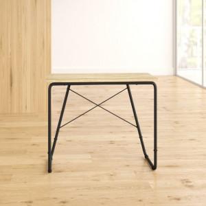 Birou Yuri, lemn, negru/maro, 75 x 90 x 50 cm
