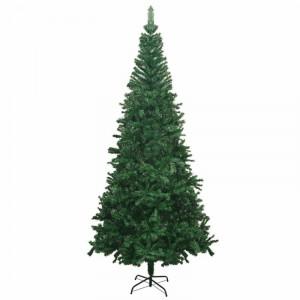 Brad artificial de Crăciun cu suport, 240 x 120 cm