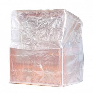 Capac de protectie pentru pat de plaja/ gradina, polietilenă, 150 cm
