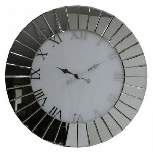 Ceas de perete Bennington XXL, sticla, 90 x 90 cm