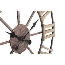 Ceas de perete Plus din fier și MDF
