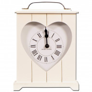 Ceas Heart Mantle, 25 x 24 cm