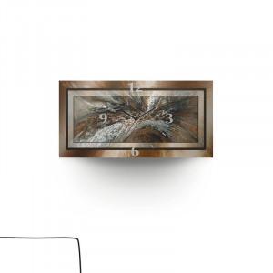 Ceas Maryjane din metal, 60 x 30 cm