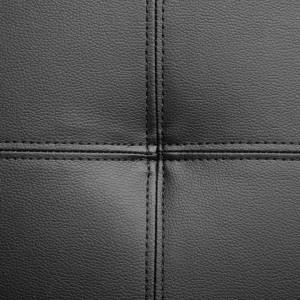 Coltar Norrea, piele sintetică, negru
