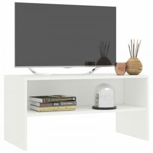 "Comodă TV 55 "" Havard, PAL, alb, 80cm W x 40cm H x 40cm D"