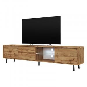 Comoda TV Galhad, maro, 157 x 40,5 x 31,3 cm