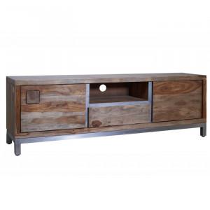 Comoda TV Le Havre, lemn masiv, 170 x 56 x 40 cm