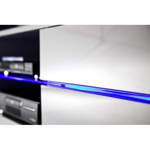 Comoda TV Vanesa, MDF, alba, 160 x 40 x 36 cm