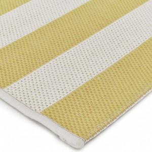 Covor Axa, alb/galben 160 x 230 cm