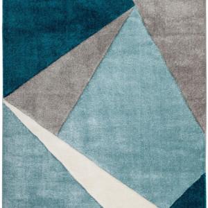 Covor Broadway, albastru/bej/crem, 120 x 170 cm