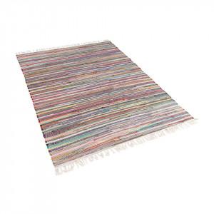 Covor Danca, tesut manual, multicolor deschis, 140 x 200 cm