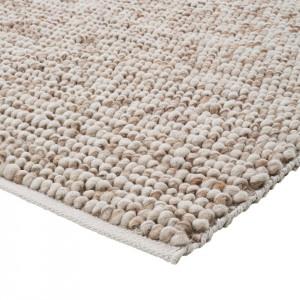 Covor din fibre Hellerup, bej, 200 x 290 cm