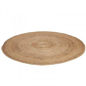 Covor impletit manual Mariaella, iuta, natur, 100 cm