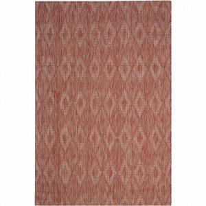 Covor interior/exterior din fibre Biarritz , 200 x 289 rosu