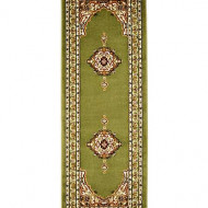 Covor Merlot Green, 67 x 200 cm