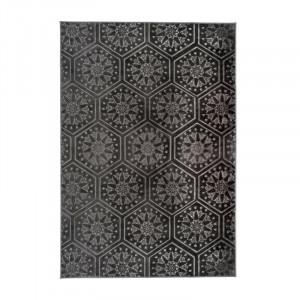 Covor Monroe negru, 200 cm x 290 cm