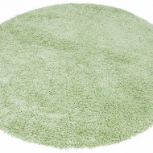 Covor rotund Shaggy VIVA by My Home Affaire 190 cm, verde deschis