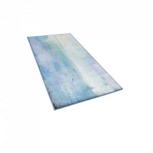 Covor SUSUZ, albastru și verde, 80 x 150 cm
