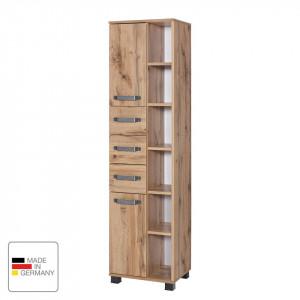Dulap inalt Milan II Pal/metal/plastic, maro, 40,3 x 163,7 x 32 cm