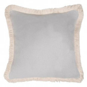 Fata de perna decorativa Comporta gri perla, 50x50 cm