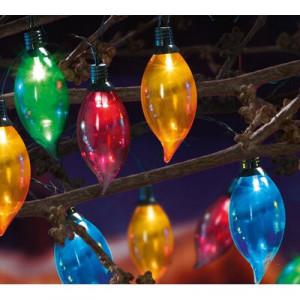 Instalație cu 80 lumini, multicolor, 780 cm