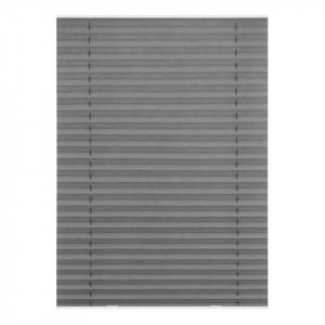 Jaluzea Plissee Hatfix- tesatura - gri - 95.3 x 100