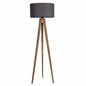 Lampadar Bodkins, gri/maro, 153 x 50 x 50 cm, 60w