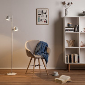 Lampadar LED Jon fier, alb, 2 becuri, 230 V, 5 W