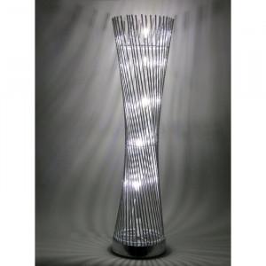 Lampadar Twisted Cylinder Tower cu LED, 80 x 25 x 25 cm