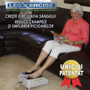 LegXercise - Dispozitiv Pentru Miscarea Picioarelor