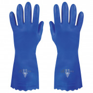 Manusi Polyco Pura PVC, albastre, marimea 9/L