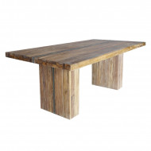 Masa de living Melissa din lemn masiv de tec 200cm x 100cm x 78cm