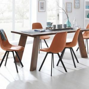 Masa din lemn masiv Home Affaire 160 x 90 cm