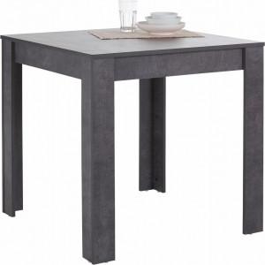 Masa Lynn, MDF/lemn, concrete, 80x80x75cm