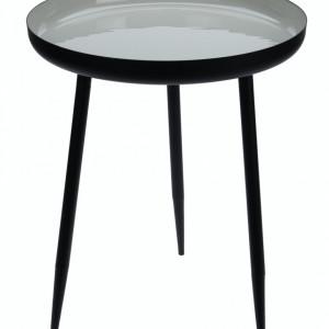 Masuta de cafea Karll din metal diametru 36.5 cm, inaltime 37 cm