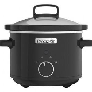 Oala multifunctionala Crock Pot Slow Cooker negru, 2.4 lt
