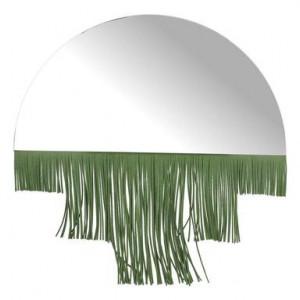 Oglinda cu decor Frange verde