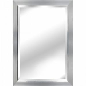 Oglindă de perete Kimberlee, argintiu, 60 x 90 cm